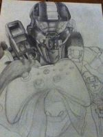 Master Chief in-progress by Ninjaboomer44