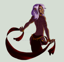 DnD OC: Sirna dance version by Koipatches