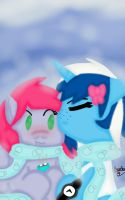 Moon Petals and Ice Berry Holiday Kiss by KayleeA