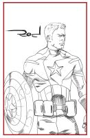 Capitain America by rodcrison