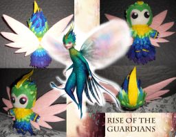 Rise of the Guardians - Tooth Fairy Plush by Sprky2008