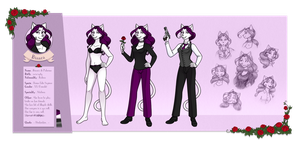 Ref sheet - BIANCA by Hellypse