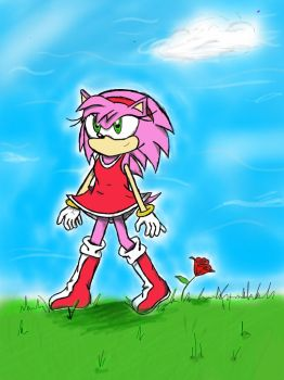 Amy Rose by Super-Sonic-Boom12