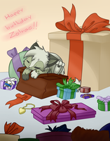 happy birthday Zolrac by josand