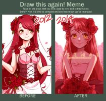 Draw this again Meme - Rosemary by lluna10