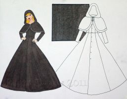 Aurora's Travelling Cloak by Isilian
