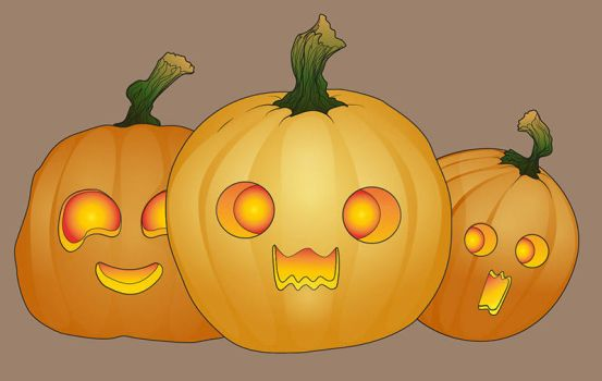 halloween Pumpkins by Ynik-name
