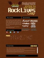 rock lives bccommunion contest by mvgraphics
