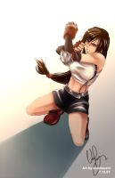 Tifa - Defend by smallsushi