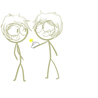 Darin and Dylan by Demonic-stickfigures