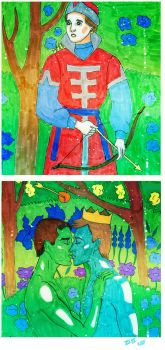The Frog Prince. Part 2 by XXI--XII