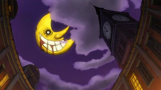 Dark moon from soul eater by maxua1
