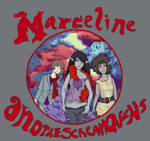 Marceline and the Scream Queens Hendrix Style by lifeofalimabean