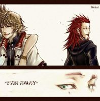 'Far Away' -akuroku- by BeBelial