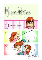 Homebbies 21 How to read! by KimiK-A