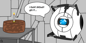Confused Wheatley by jhinds12