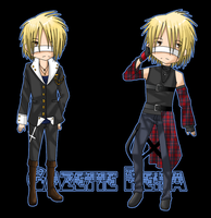 Reita chibis by GazeRei