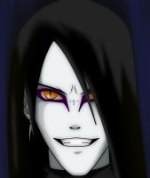 orochimaru by whitetom