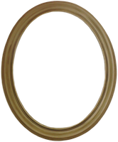 Oval Frame Png by Sannalee01