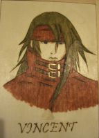 Vincent Valentine by akicafe