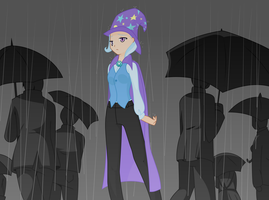 Trixie - Stand in the Rain by Drewdini