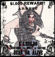 Angus Hamilton Mercenary (Wanted Poster) by Soul-feeder
