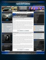Fabolous Gaming Template by ImpactoX