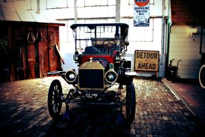 Ford Model T by cougarbandit
