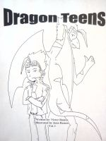 Dragon Teens Vol 1 front cover by DragonTeens