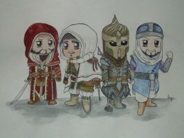 ACR multiplayer characters set 1 by i-UnKnown