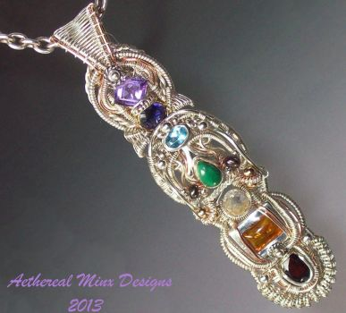Chakra Pendant by AetherealMinx