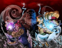 Street Fighter Unlimited exclusive cover #1 by dovianax