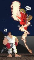 Street Fighter Shoryuken by KIRKparrish