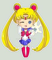 Chibi Raffle Com: Sailor Moon by Kalisama