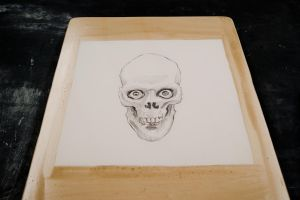 Litho Skull by Subcogitate