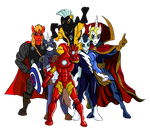 Male 6 - Avengers (RQ for manteyval) by Witkacy1994