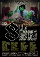 the 8th deadly sin flyer by imagist