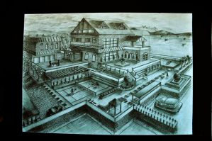 Bunglow In Perspective Design by NathanLeaw