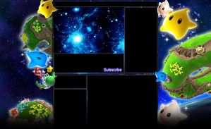 Super Mario Galaxy 2 YouTubeBG by ealdana