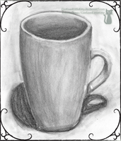 coffee mug study - side by ConfusedLittleKitty