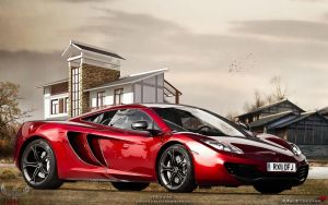 McLaren MP4 - Mr.Brave by AHK by AbdollahHamodzadeh