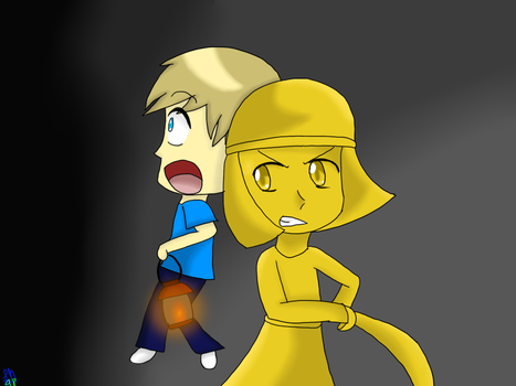 PewDiePie and Stephano by Luckynight48