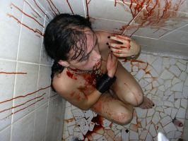 Dead in shower 4 by StaBys-Stock