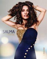 Salma Hayek New Retouch Design by A7MDTikO