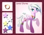 Character list commission - Jawel Perse by ka-samy