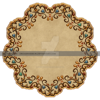 Antique Gold Frame - Premium Content by DreamWarrior