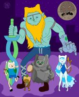 Finn's Masks by -coldfusion-
