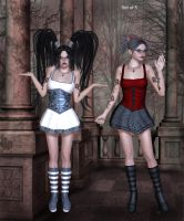 Strictly Goth by oldhippieart