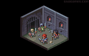 Isometric dungeon by AlbertoV
