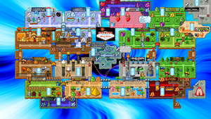 Welcome to FABULOUS Warp Zone! (World 0) by Texace146